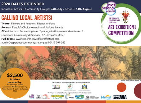 2020 Act-Belong-Commit Esperance Wildflower Festival Art Exhibition and Competition