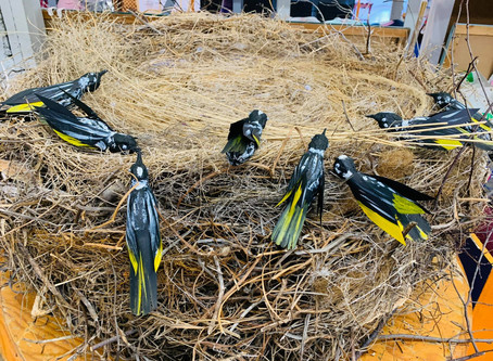 Beautiful Bird Sculptures!