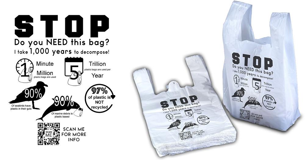 Just Say No 2 Plastic