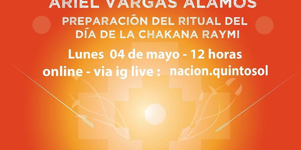 Ciclo de la Chakana. Entrevista a Ariel Vargas Alamos