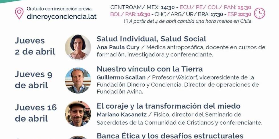 Seminarios digitales Dinero y Conciencia 2020