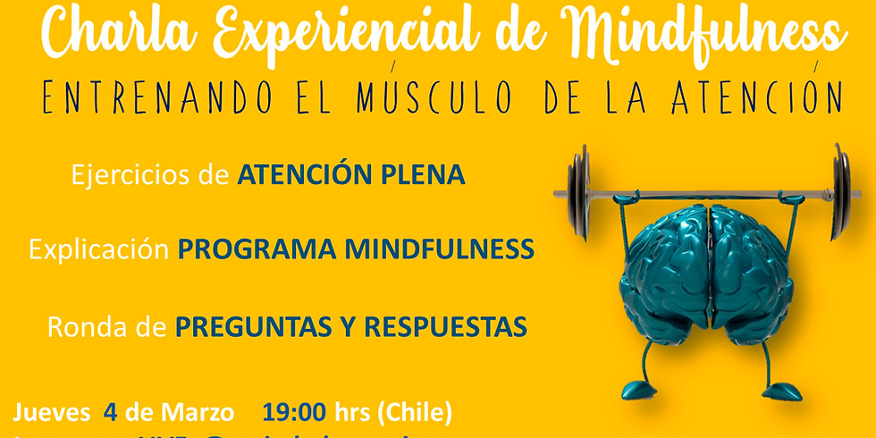 Charla Experencial de Mindfulness