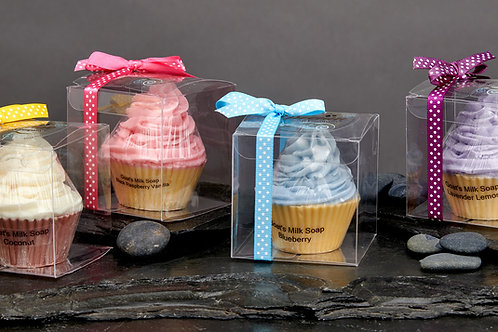 Swirl-Topped Cupcake Soaps