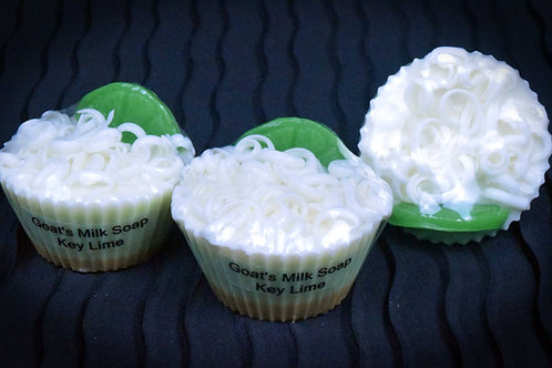 Key Lime Pie Cupcake Soaps
