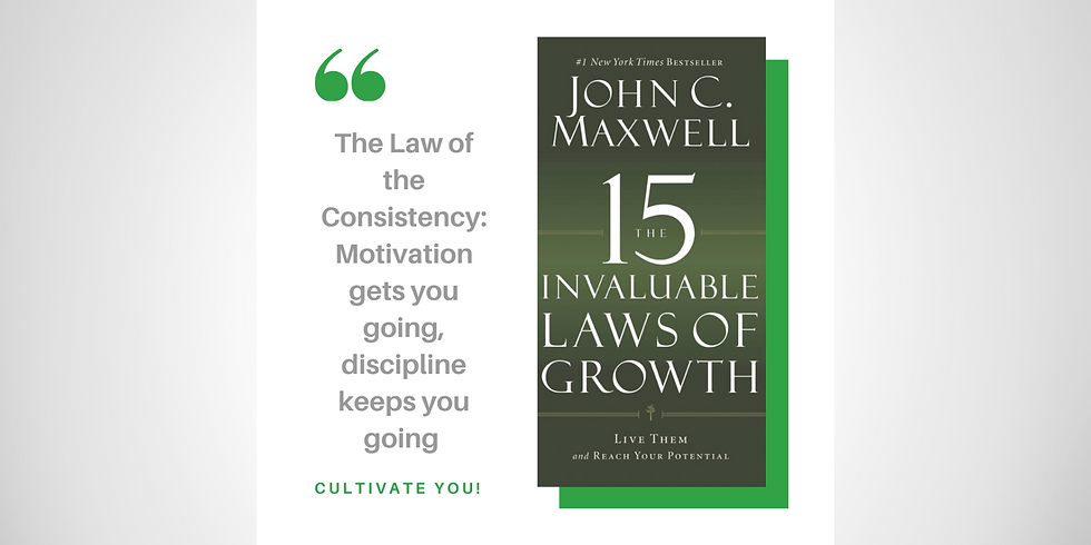 15 Invaluable Laws of Growth Mastermind