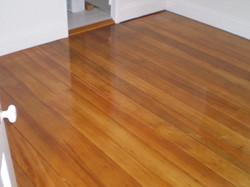Kauri pine floor