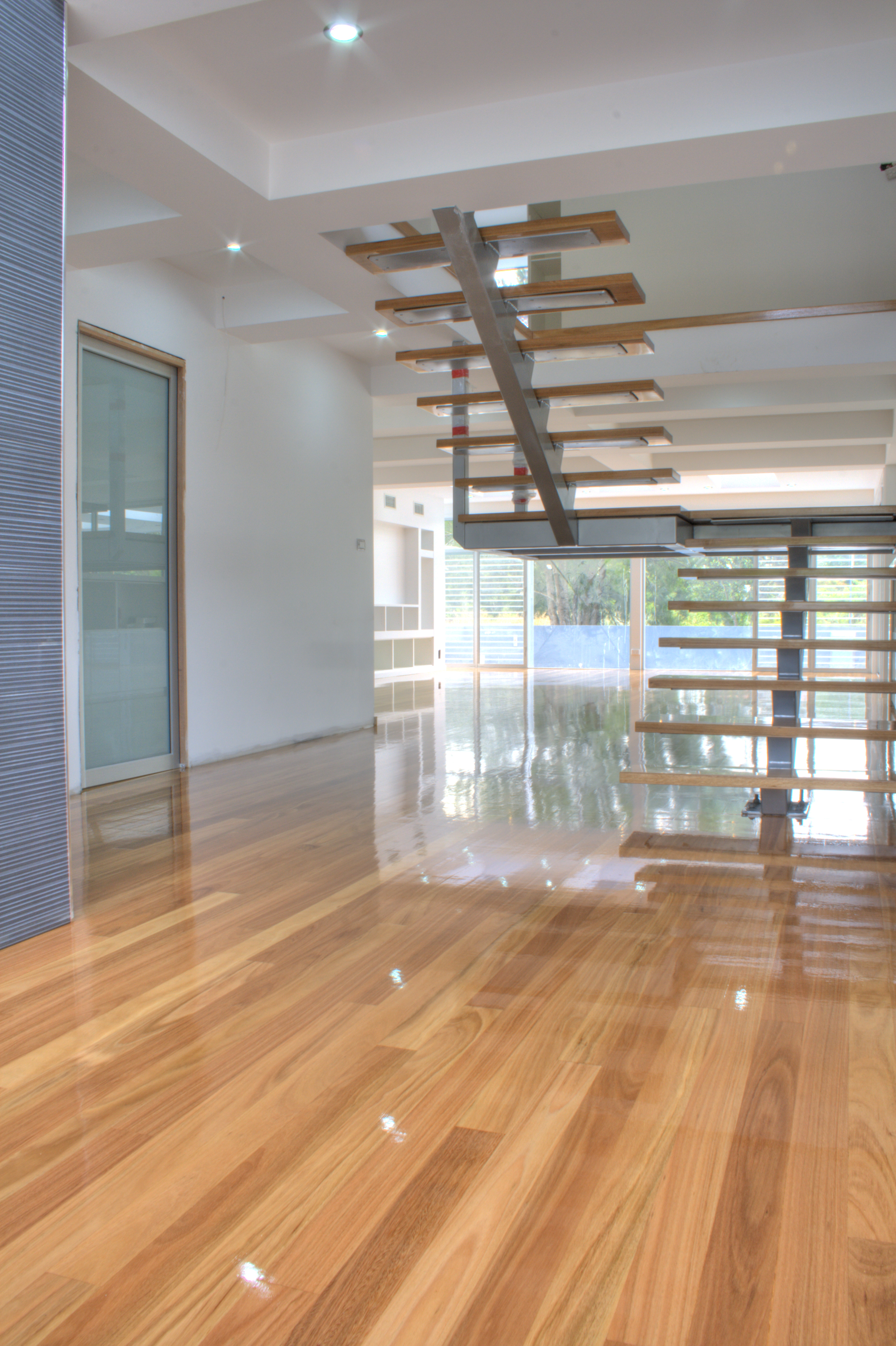 Blackbutt floor