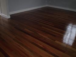 Mixed hardwood floor