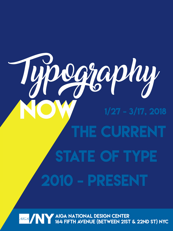 Typography Now! Poster