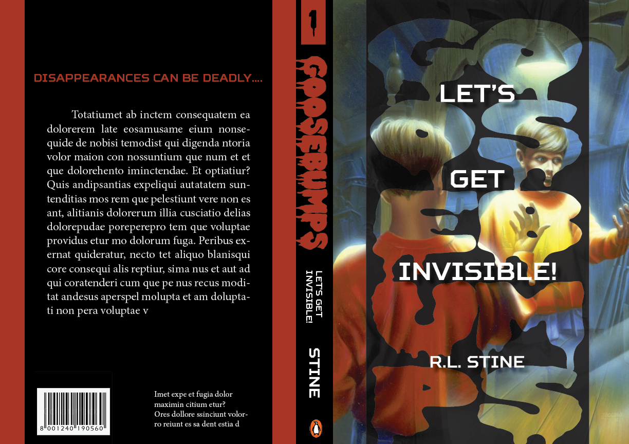 Full Book Cover Wrap