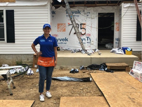 Through an Intern's Eyes: Building a Home for a Family in Need