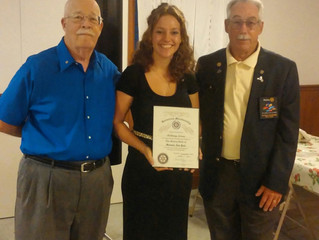 Bethany Nelson Reconnects With Her Local Rotary Club