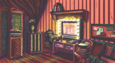 Circus Folk: Dressing Room