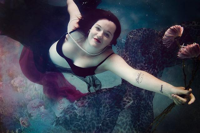Brisbane Photographer Underwater Portrait