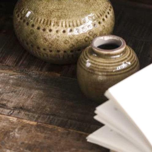 Vase Mini Karamellbraun