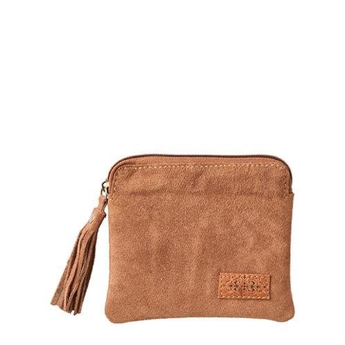 Mini Clutch oder Geldbeutel im Kamel