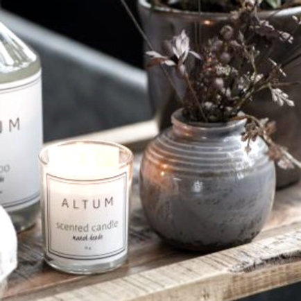 Vase Mini warmes Grau/Braun