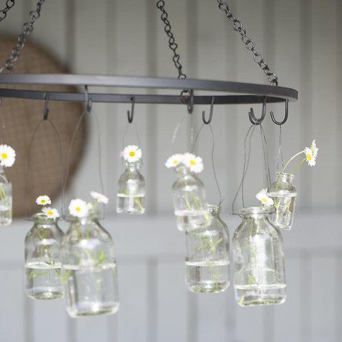 Glasflasche zum hängen mini