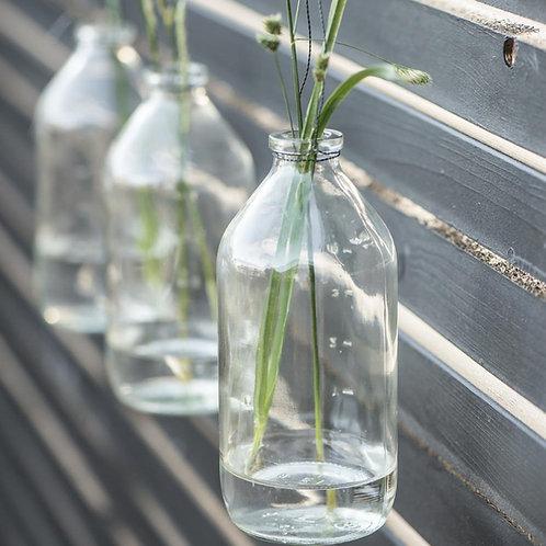 Glasflasche zum hängen gross