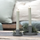 Thumbnail: Kerzenhalter Moosgrün für Stabkerzen