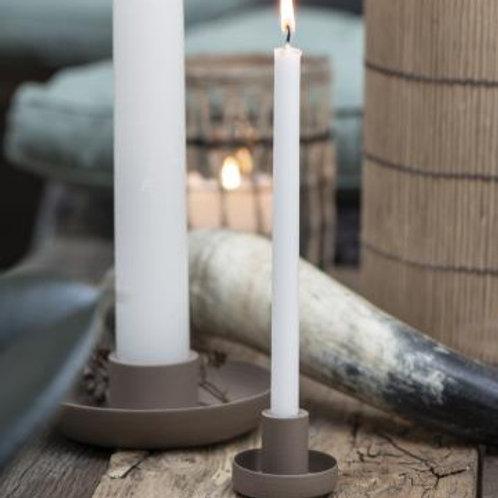 Kerzenhalter Braun für dünne Kerzen