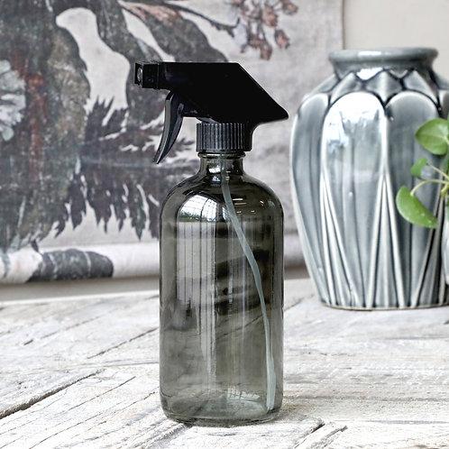 Flasche mit  Zersträuber graues Glas