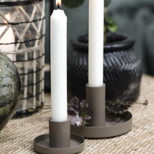 Kerzenhalter Braun für Stabkerzen