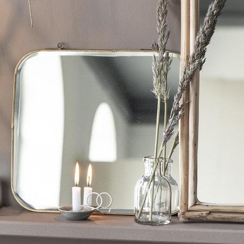 Mini Kerzenhalter grau