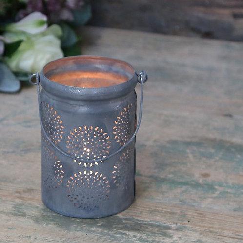 Teelicht mit Henkel