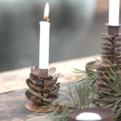Metallzapfen Kerzenhalter klein