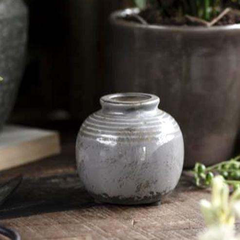 Vase Mini Grau