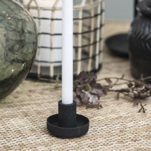 Mini Kerzenkalter Schwarz für dünne Kerzen