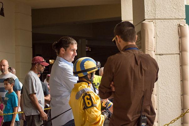 Saffie Joseph Jr Horse Racing Gulfstream Park