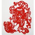 劉海戯蟾(劉海がガマガエルと戯れる)