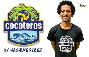 Hashlye Pérez  - Liga Puertorriqueña de Voleibol Superior - Cocoteros de Loíza 2019 - 2020