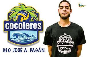José A. Pagán - Liga Puertorriqueña de Voleibol Superior - Cocoteros de Loíza 2019 - 2020