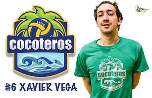 Xavier Vega - Liga Puertorriqueña de Voleibol Superior - Cocoteros de Loíza 2019 - 2020