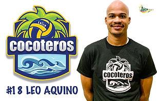 Leo Aquino - Liga Puertorriqueña de Voleibol Superior - Cocoteros de Loíza 2019 - 2020