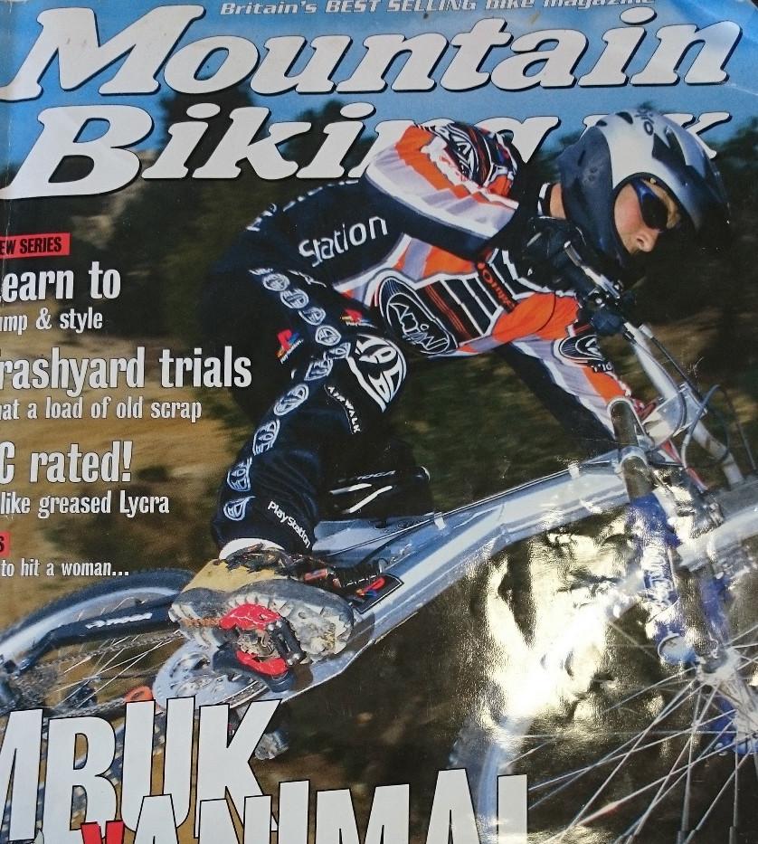 MBUK Magazine front cover 1999