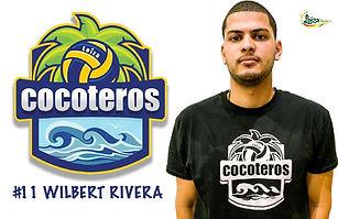Wilbert Rivera - Liga Puertorriqueña de Voleibol Superior - Cocoteros de Loíza 2019 - 2020