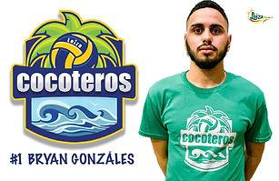 Bryan Gonzalez - Liga Puertorriqueña de Voleibol Superior - Cocoteros de Loíza 2019 - 2020