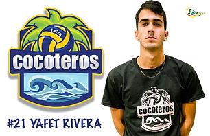 Yafet Rivera - Liga Puertorriqueña de Voleibol Superior - Cocoteros de Loíza 2019 - 2020