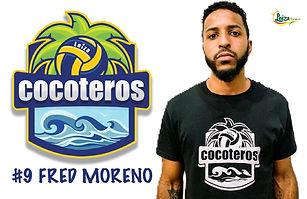 Fred Moreno - Liga Puertorriqueña de Voleibol Superior - Cocoteros de Loíza 2019 - 2020