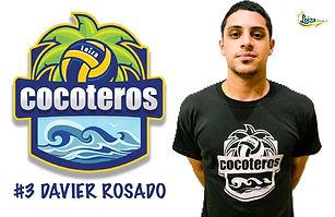 Davier Rosado - Liga Puertorriqueña de Voleibol Superior - Cocoteros de Loíza 2019 - 2020