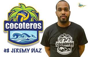 Jeremy Díaz - Liga Puertorriqueña de Voleibol Superior - Cocoteros de Loíza 2019 - 2020