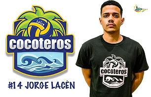 Jorge Lacen Aponte - Liga Puertorriqueña de Voleibol Superior - Cocoteros de Loíza 2019 - 2020