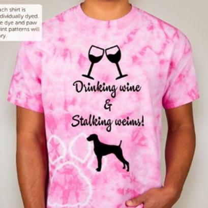 Pink Tie Dye W&W Shirt