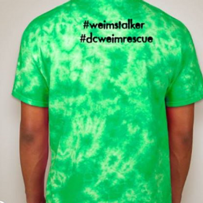 Green Tie Dye W&W Shirt