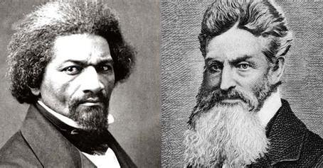 Frederick Douglass meets John Brown