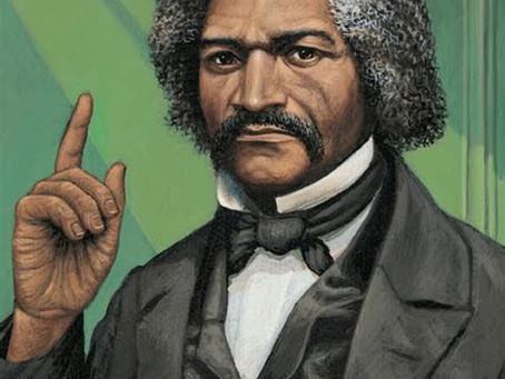 Frederick Douglass is a free man